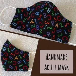 NEW Teacher's Gift Handmade Adult face mask